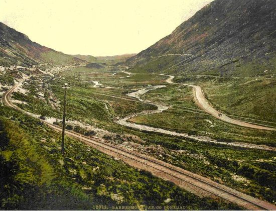 A_very_old_photograph_of_Barnesmore_Gap_showing_the_abandoned_railway_line